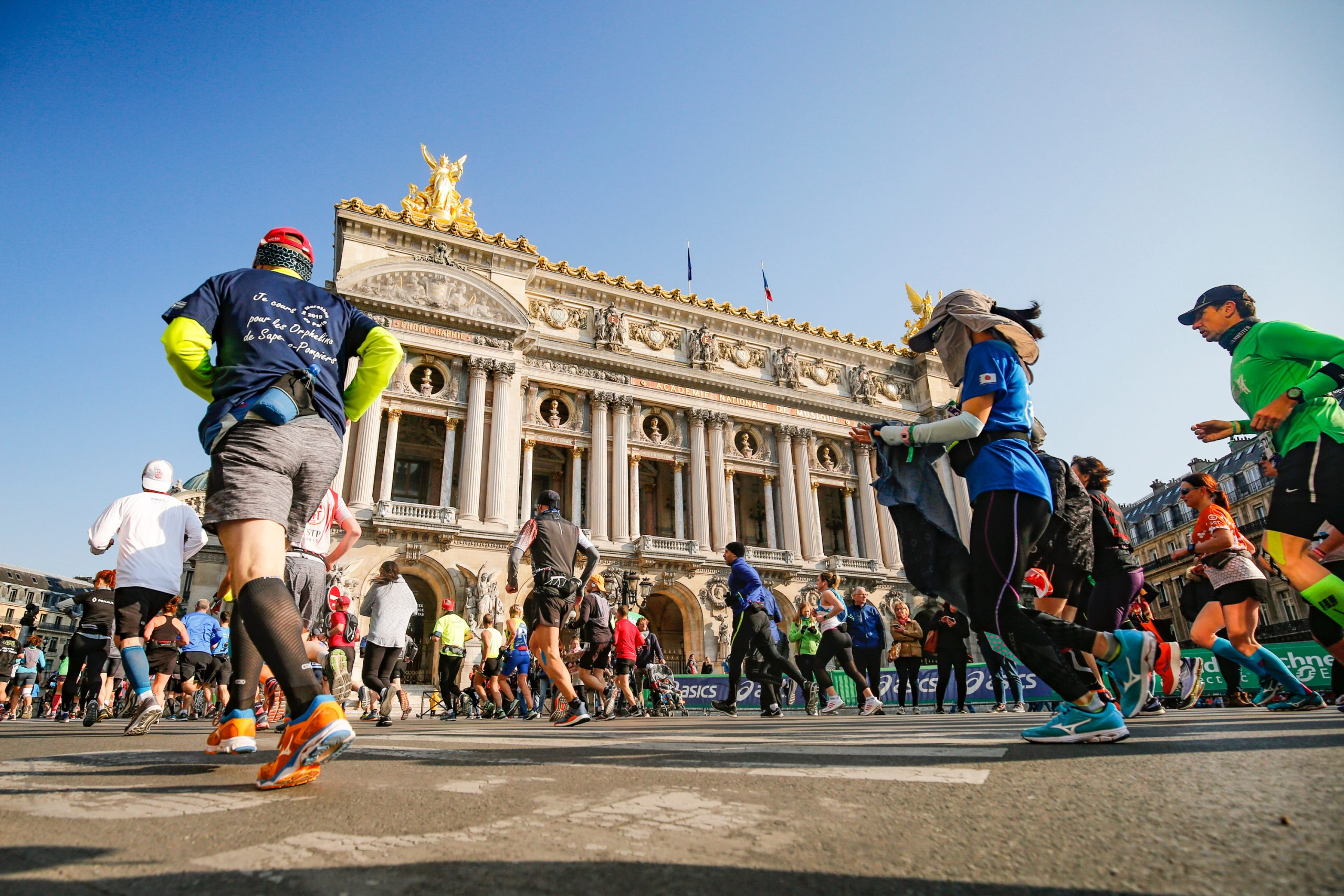 Le départ pour le marathon 2021 va bientôt sonner