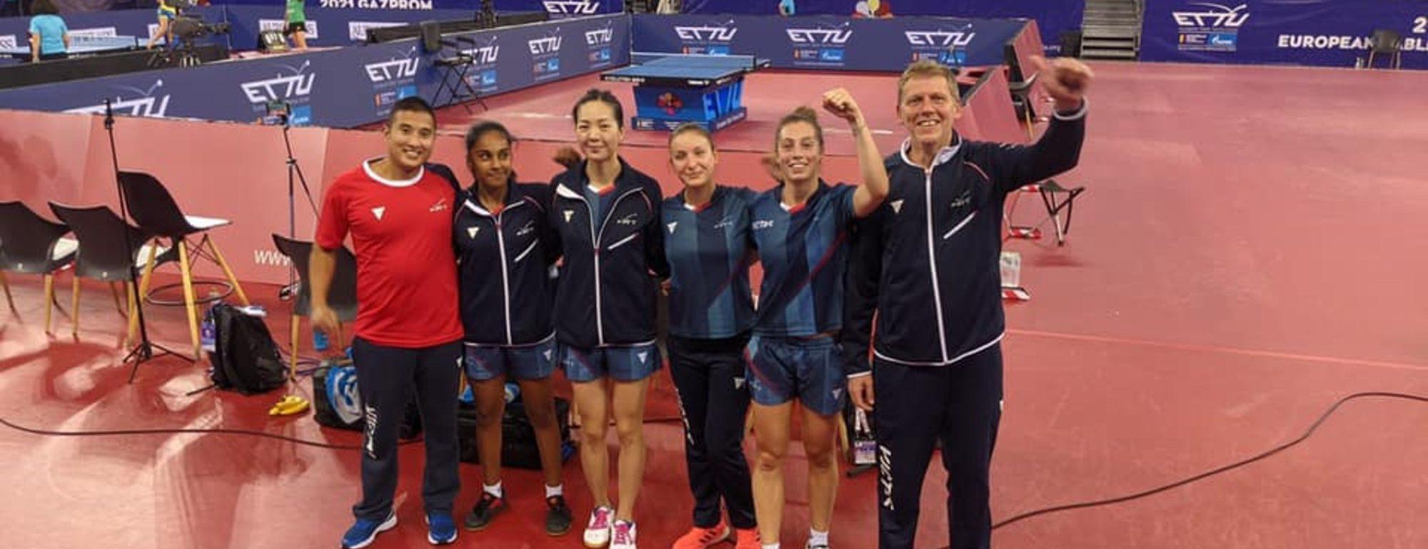 les bleues en demi-finales des championnats d'europe
