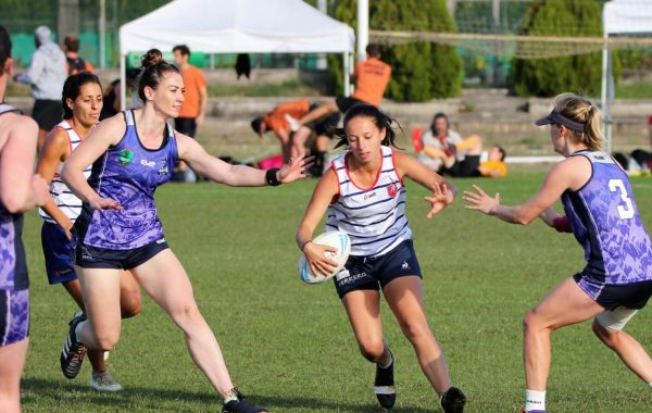 L'équipe de France de touch rugby est vice-championne d'Europe