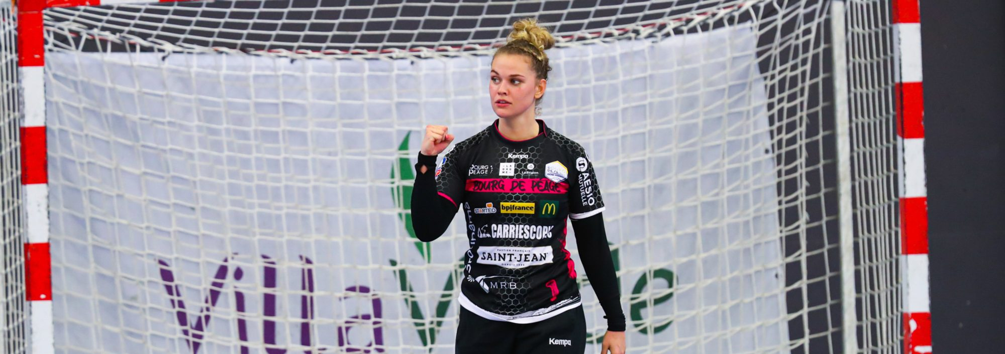 Camille Depuiset est élue meilleure joueuse du mois de septembre