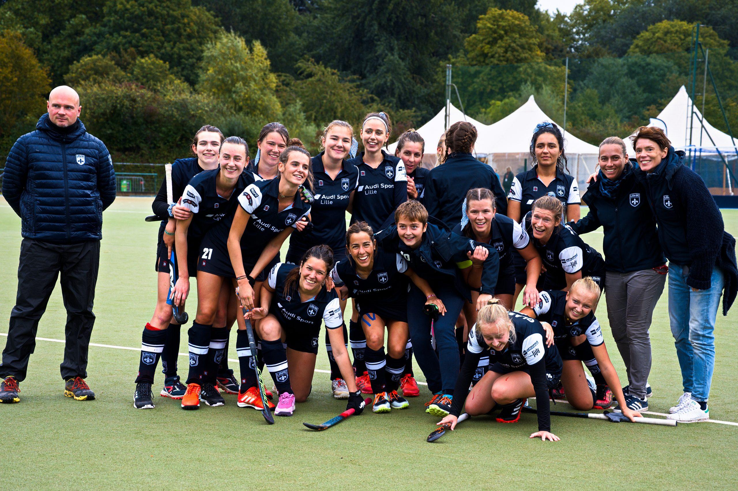 Lille hockey club a accueilli l'Eurohockey club trophee women