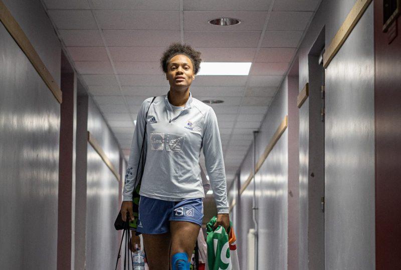 Océane sercien a vécu ses premiers Jeux olympiques à Tokyo