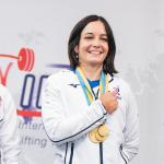 noémie Allabert est championne du monde de force athlétique